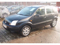 Ford fusion 2 - Black 1.4 Duratec Semi Auto 2003 - Spares Repair Breaking Parts only