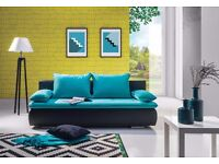 DELIVERY 1-3 DAYS Couch Settee Sofa Bed Sofa PLAY Calssic Line Brand New BED Function and Storage