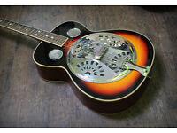Norwich/Dereham - Martin Smith resonator acoustic guitar