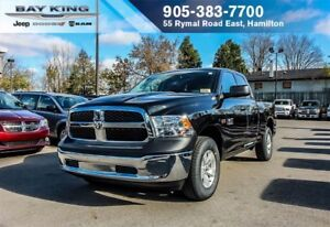 2018 Ram 1500 SXT QUAD CAB 4X4, TINTED, POWER WINDOWS/DOORS