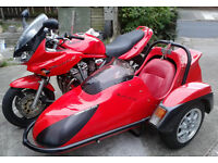 Motorbike and Sidecar