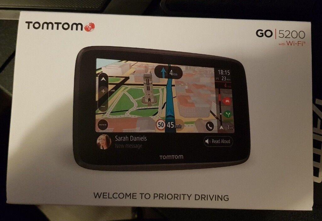 TomTom Go 5200 - Sat Nav - WiFi - Excellent Condition - Lifetime Updates |  in Milton Keynes, Buckinghamshire | Gumtree