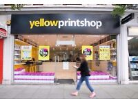 Digital Printers & Copy Shop Looking for Shop Staff - Graduates Required
