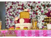 DO YOU WANT DIFFERENT? FLOWER WALL FOR HIRE - £150 ( + TRAVEL CHARGES – NEGOTIABLE)