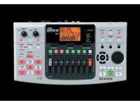 Zoom MRS 8 Multitrack 1GB SD Recorder with Drums and Effects (Great Condition)