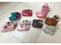 Toddler shoes, boots and wellies