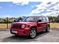 Jeep Patriot Sport 2.4, Red, Manual Petrol. Warranted Low Mileage