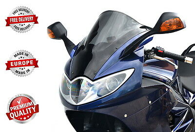 RACING DOUBLE BUBBLE SCREEN WINDSHIELD SCHEIBE TRIUMPH SPRINT ST 1050