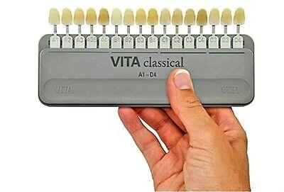 Vita Classical Shade Guide A1-d4 16 Shades New Dental Shade Holder