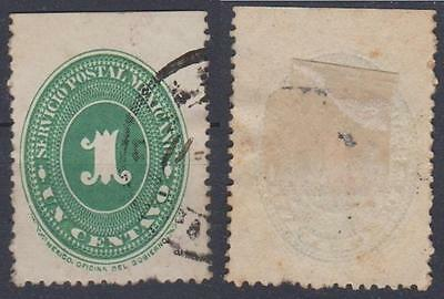 *MEXICO*   Numeral,   1c,    Used