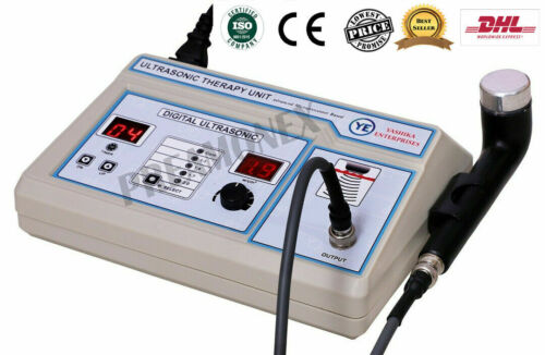 Ultrasound 1 Mhz Therapy Portable Machine Pain Relief Therapy Therapeutic Unit