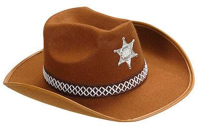 Sheriff Gordon Hut für Kinder NEU - Karneval Fasching Hut Mütze Kopfbedeckung ()