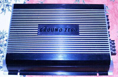 Amplificatore 4 canali – car audio : GROUND ZERO Titanium GZTA 4.120MK2 + cavi  comprar usado  Enviando para Brazil