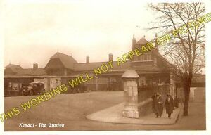 Kendal Railway Station Photo. Oxenholme - Burneside. Windermere Line. L&NWR