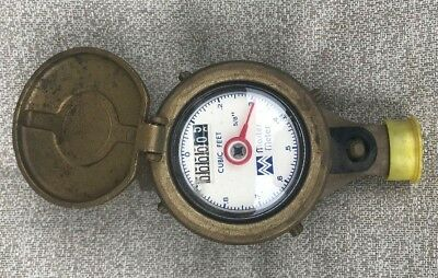 Master Meter 58 X 34 Solid Brass