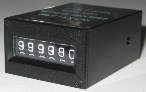 KEP Electro Mechanical Compact 6 Digit Counter - 24 V DC - E660 - 20 CPS