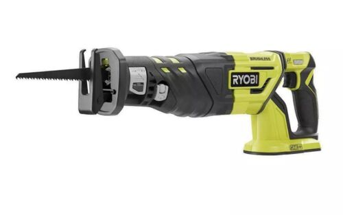 NEW Ryobi 18-Volt One+ Brushless Reciprocating Blade Saw Too