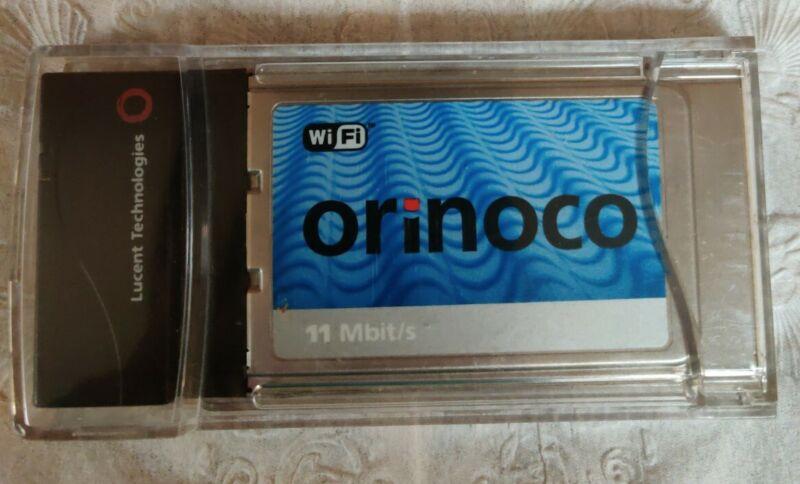 Lucent ORiNOCO Silver PC Card Wireless LAN WiFi PCMCIA