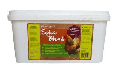 Natures Grub Spice Blend for Poultry 2kg, Poultry Spice Supplement, Chicken