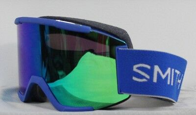 f90326ba58bb 2019 Smith Squad Ski Snowboard Goggles Imperial Blue ChromaPop Sun Green  Mirror