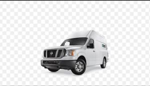 Small moving truck or delivery