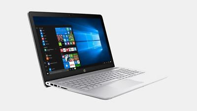 "NEW HP 15.6"" Touch Intel Core i5-8250U,8GB RAM,1TB HDD,Win 10,HDMI,Silver Laptop"
