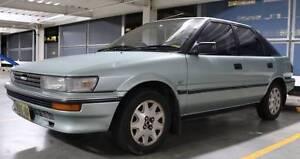 1991 Toyota Corolla CSX SECA Rhodes Canada Bay Area Preview