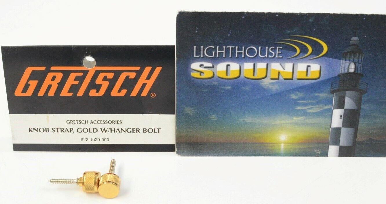 922-1029-000 Genuine Gretsch Strap Buttons GOLD NEW