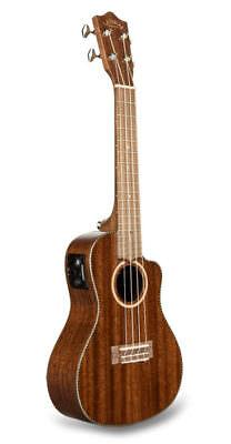 Lanikai Solid Mahogany Concert Uke Acoustic/Electric Ukulele FREE Case/3Day Ship