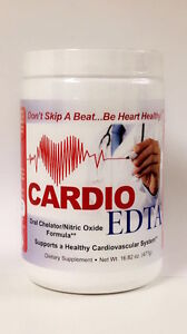 CARDIO EDTA Oral Chelation Therapy Pure Professional Grade Doctor Recommended