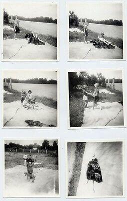 Foto DDR Alltag Kinder aus Bautzen beim Spielen Mädchen Knaben