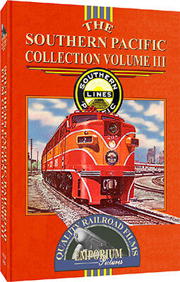 Southern Pacific Railroad Film Collection Volume III DVD W/ West Colton Yard!