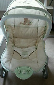 Mothercare Tiny Ted Rocker / Bouncy Chair