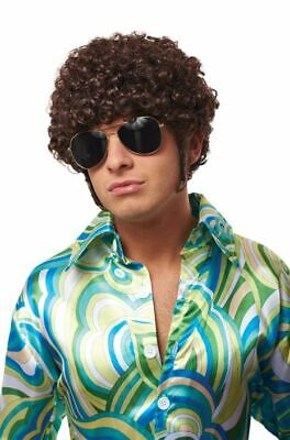 Costume Culture That 70s Guy Hyde Brown Wig Halloween Costume Accessory 21101-12 - Halloween Costume Brown Guy