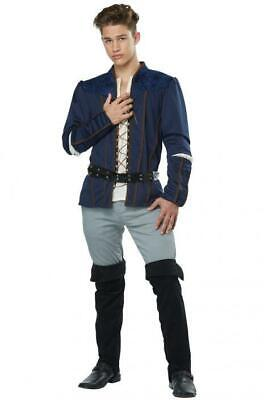 Mens Romeo Costume, Shakespeare, Juliet, Medieval Renaissance Halloween  - Shakespeare Halloween Costume