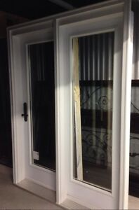 NEW Highend glass door w/sidelight, multipoint lock system 59x80