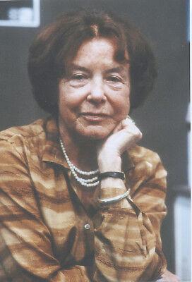 Foto der Schriftstellerin LUISE RINSER - Pressefoto Aufnahme von 1983 -  Autorin