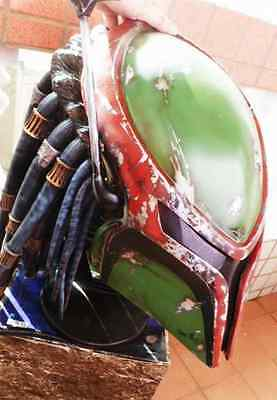 1 STAR WARS Boba Fett  Helmet Prop Replica only. ''NOT BOBA,PRED FOR SALE''](Star Wars Helmets For Sale)