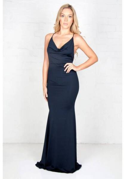 Zachary the Label Cowl Strap Gown HIRE (FORMAL DRESS) | Dresses ...