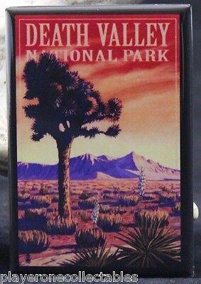 Death Valley National Park Travel Poster 2  X 3  Fridge Magnet  California