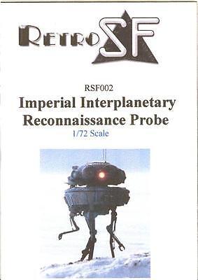 RetroKits Models 1/72 IMPERIAL INTERPLANETARY RECONNAISSANCE PROBE Resin Kit