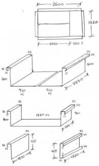Trailer Tub, Front & Tailgate (Steel) Breakwater Geelong City Preview