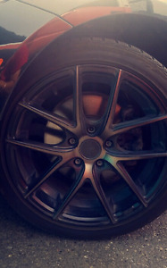 "18"" Niche Targa m130 Rims and Tires"