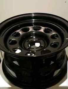 Gecko drift wheels gloss black 15inch Hawthorn East Boroondara Area Preview