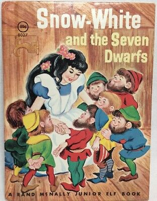 SNOW WHITE and the SEVEN DWARFS Rand McNally Junior Elf Book (Snow White And The Seven Dwarf Elves)