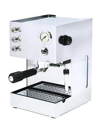 La Pavoni Gran Caffè GCM Siebträger Espressomaschine, edelstahl