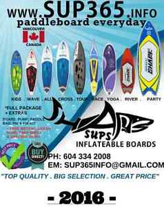 Inflatable SUP Paddle boards kids, surf, family, fun, race, tour