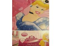 Disney Princes Single Duvet Bed Set
