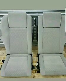 Zafira 2004 rear seats