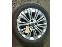 "*WHEEL 4* VAUXHALL CORSA D 16"" ALLOY WHEEL WITH TYRE 195/55/R16"